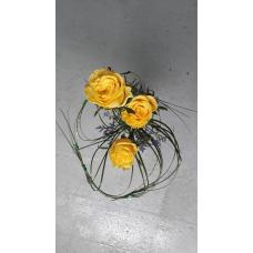 Kimp kolm roosi